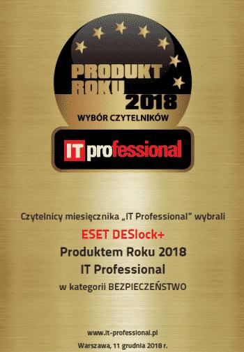DESLock - Produkt Roku 2018